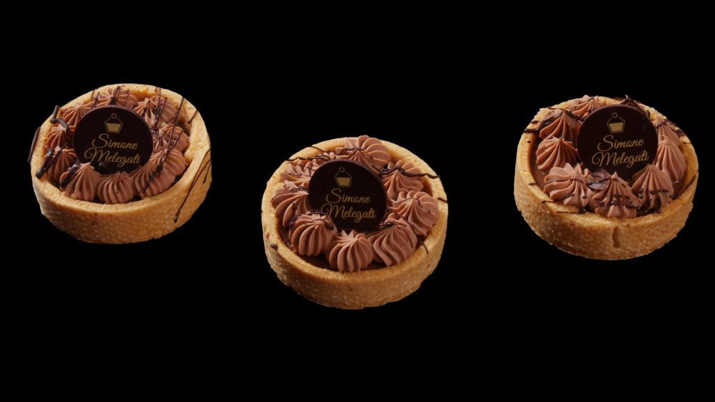 dolce con crema di cioccolato